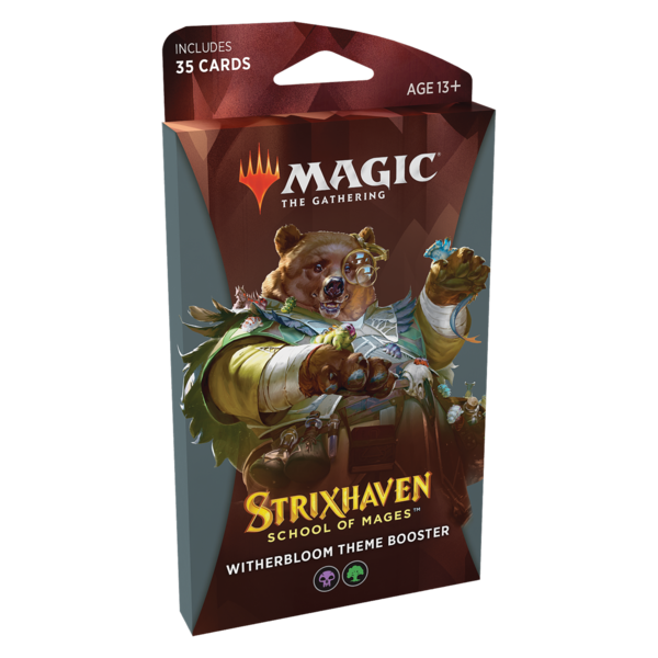 Wizards of the Coast MTG STRIXHAVEN THEME BOOSTER (Black)