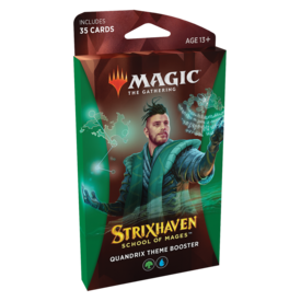Wizards of the Coast MTG STRIXHAVEN THEME BOOSTER (Green) *DATE DE SORTIE 23 AVRIL*