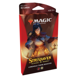 Wizards of the Coast MTG STRIXHAVEN THEME BOOSTER (Red) *DATE DE SORTIE 23 AVRIL*