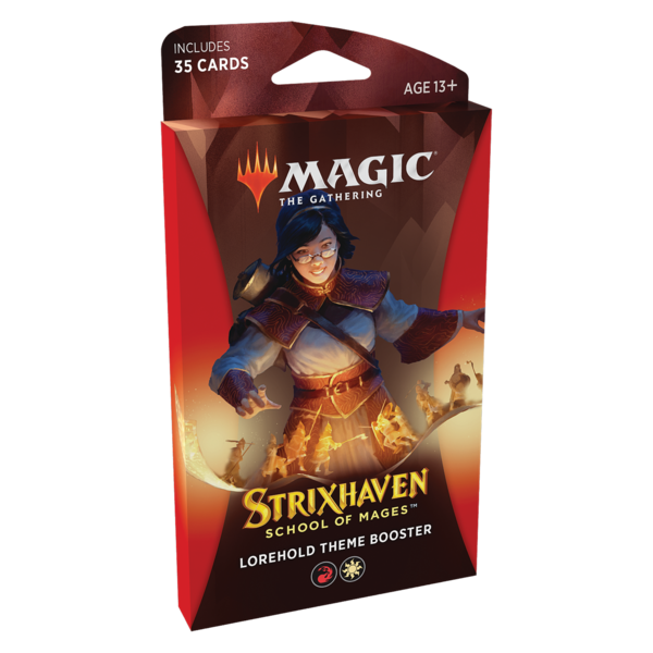 Wizards of the Coast MTG STRIXHAVEN THEME BOOSTER (Red)