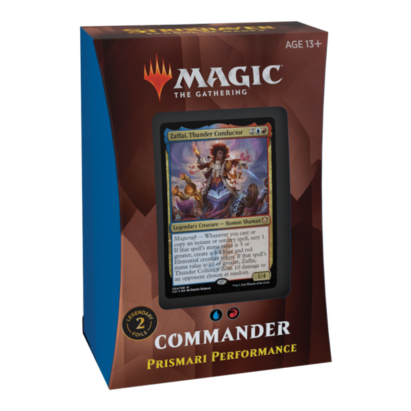 Wizards of the Coast MTG STRIXHAVEN COMMANDER - Prismari Performance