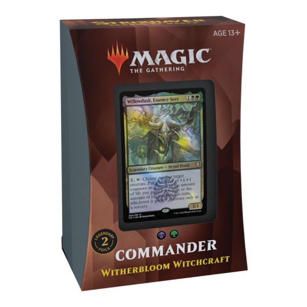 Wizards of the Coast MTG STRIXHAVEN COMMANDER - Witherbloom Witchcraft
