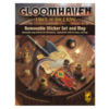 GLOOMHAVEN JAWS OF THE LION REMOVABLE STICKER SET/MAP