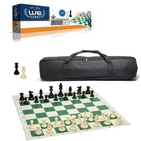 WeGames Jeu d'échec / Chess set - Édition Tournoi /avec Sac de Transport