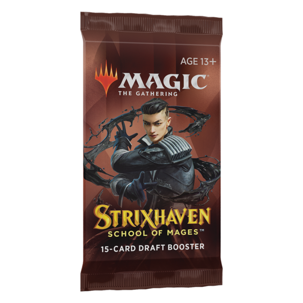 Wizards of the Coast MTG STRIXHAVEN DRAFT BOOSTER PACK