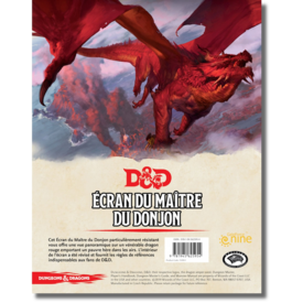 Wizards of the Coast FR - DnD - Écran du Maître du Donjon