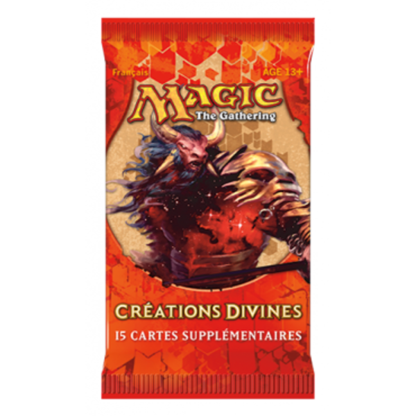 Wizards of the Coast FRANÇAIS-MTG CRÉATIONS DIVINES  DRAFT BOOSTER