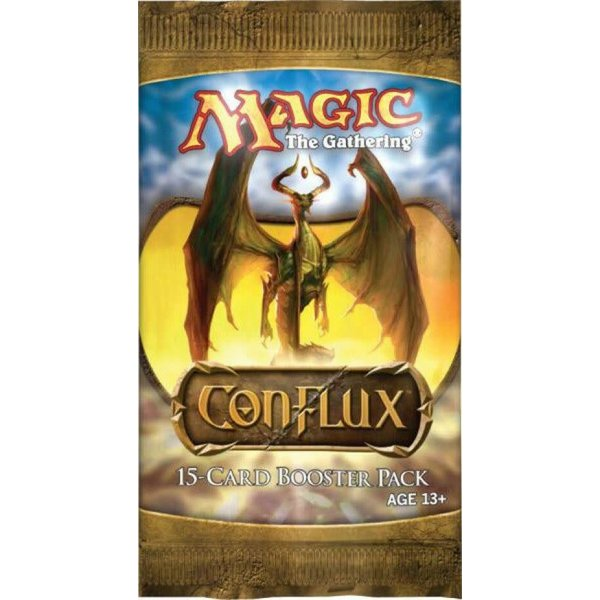 Wizards of the Coast MTG CONFLUX DRAFT BOOSTER