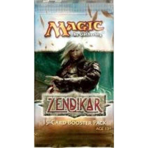 Wizards of the Coast MTG ZENDIKAR DRAFT BOOSTER
