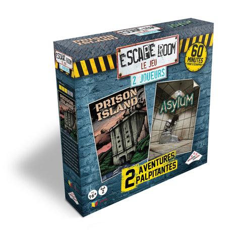 Escape Room - Coffret 2 Joueurs (Prison/Asylum)