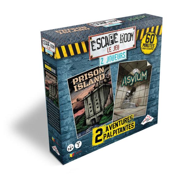 Identity Games Escape Room - Coffret 2 Joueurs (Prison/Asylum)