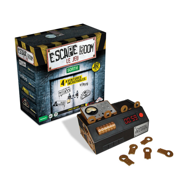 Identity Games Escape Room - Jeu de Base (4 scénarios)