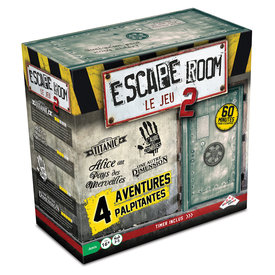 Identity Games Escape Room - Jeu de Base #2 (4 scénarios)