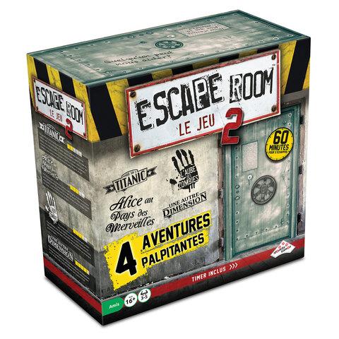 Escape Room - Jeu de Base #2 (4 scénarios)