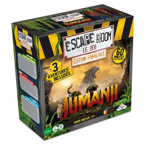 Escape Room - Jumanji (3 scénarios)