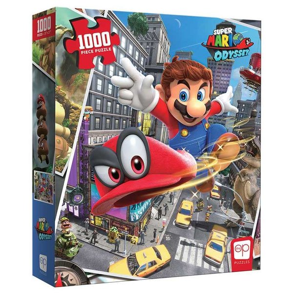 Usaopoly PUZZLE 1000pc SUPER MARIO ODYSSEY SNAPSHOT