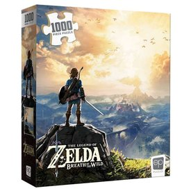 Usaopoly PUZZLE 1000pc ZELDA BREATH OF THE WILD