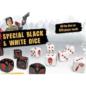 CMON Zombicide Black & White Dice