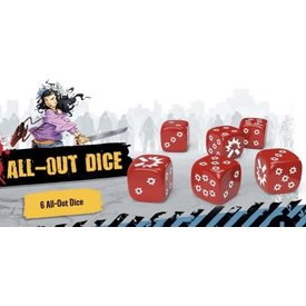 CMON Zombicide All Out Dice