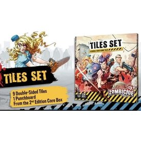CMON Zombicide 2nd edition Tiles Set