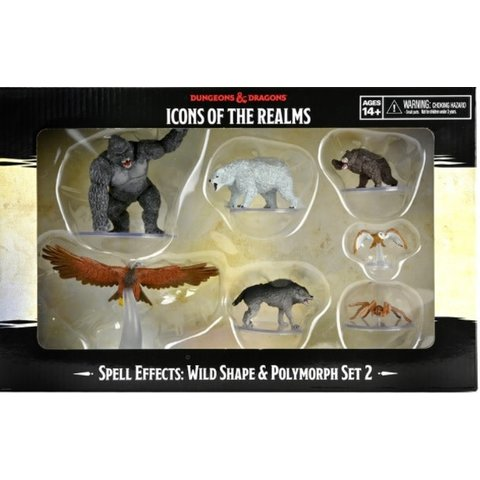 DND ICONS: WILD SHAPE AND POLYMORPH SET 2