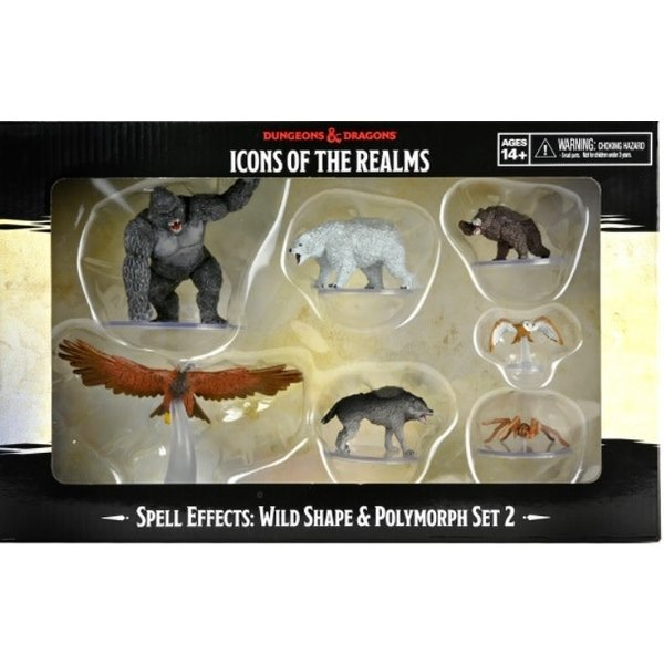 WIZKIDS DND ICONS: WILD SHAPE AND POLYMORPH SET 2