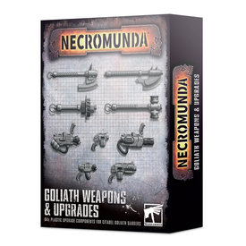 Warhammer 40k NECROMUNDA: GOLIATH WEAPONS & UPGRADES