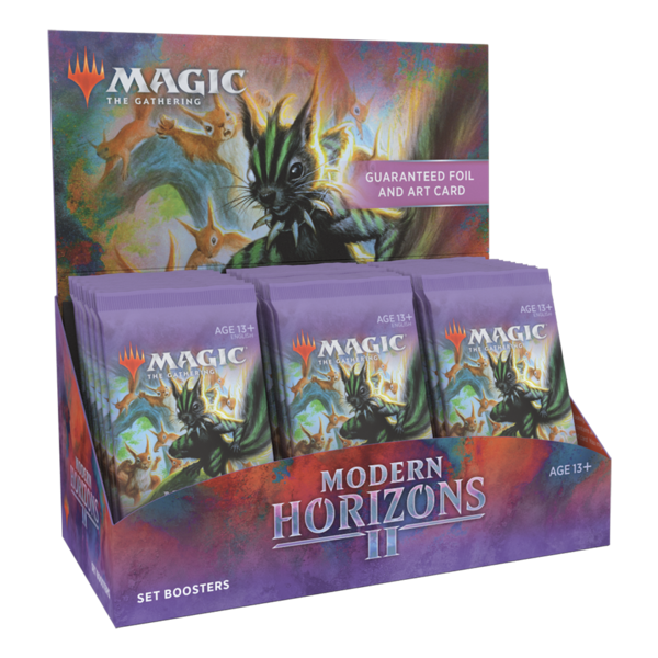 Wizards of the Coast MTG MODERN HORIZONS 2 SET BOOSTER BOX
