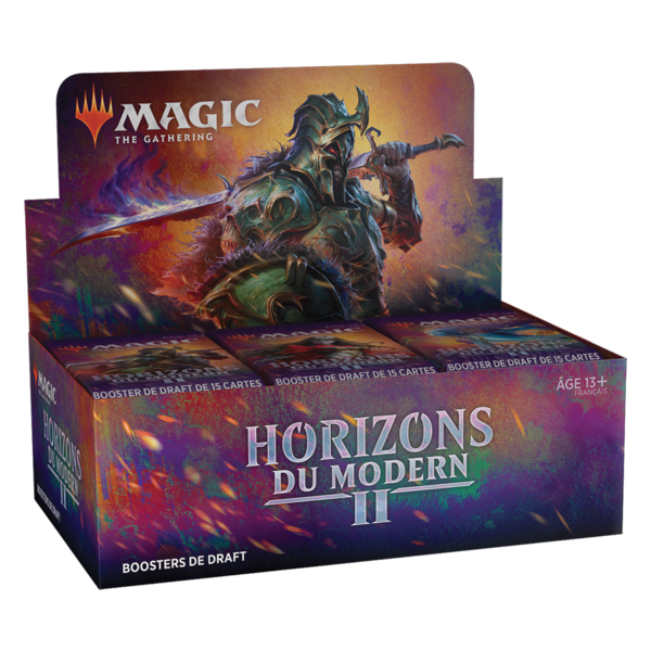 Wizards of the Coast FRANÇAIS - MTG MODERN HORIZONS 2 DRAFT BOOSTER