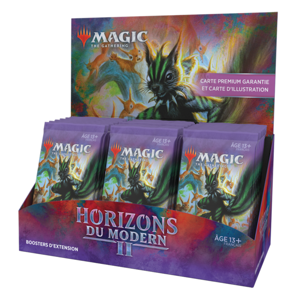 Wizards of the Coast FRANÇAIS - MTG MODERN HORIZONS 2 SET BOOSTER BOX