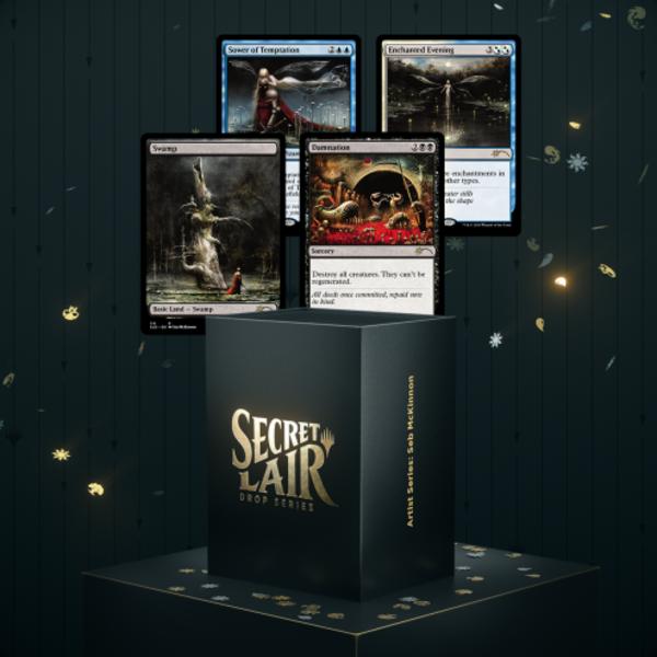 Wizards of the Coast MTG Secret Lair Artist Series : Seb McKinnon