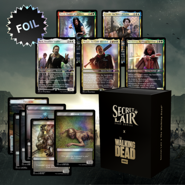 Wizards of the Coast MTG Secret Lair x The Walking Dead