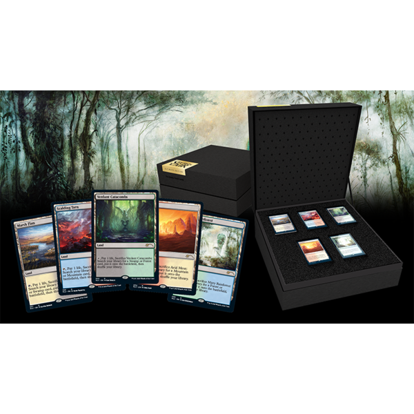 Wizards of the Coast MTG Secret Lair Ultimate Edition The Enemy Fetch Lands