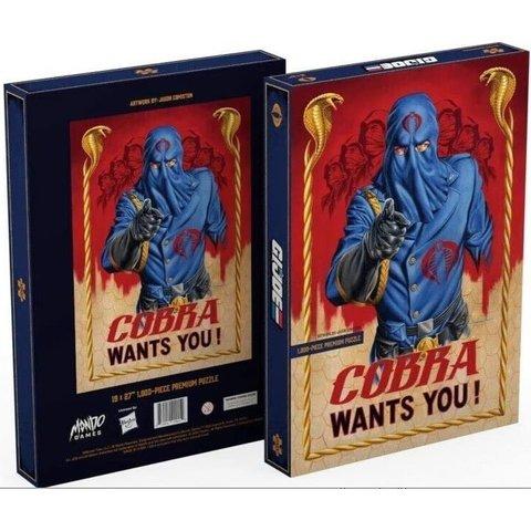 Puzzle 1000: G.I. Joe - Cobra Wants You!