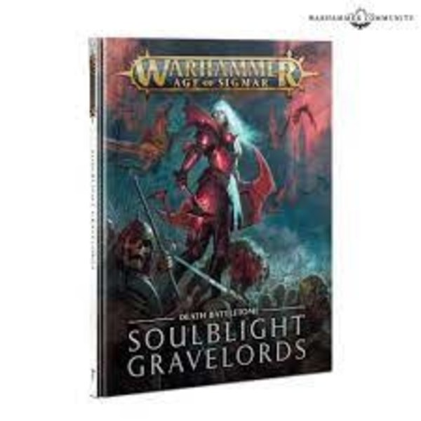 Age of Sigmar BATTLETOME : Soulblight Gravelords (ENG)