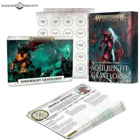 Age of Sigmar WARSCROLLS: SOULBLIGHT GRAVELORDS (FRE)