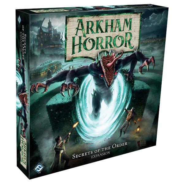 FANTASY FLIGHT Arkham Horror Third Edition: Secrets of the Order