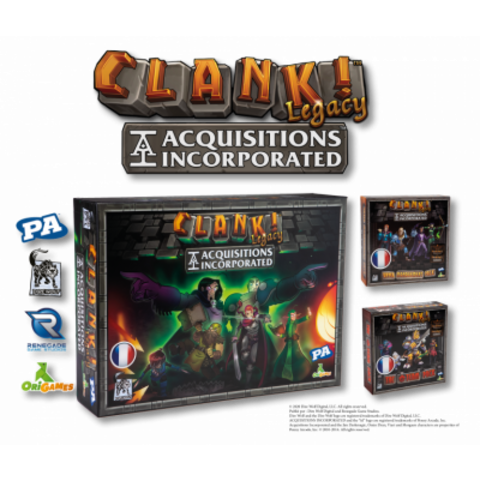Clank Legacy: Acquisitions Incorporated VF - AVANT-PREMIÈRE