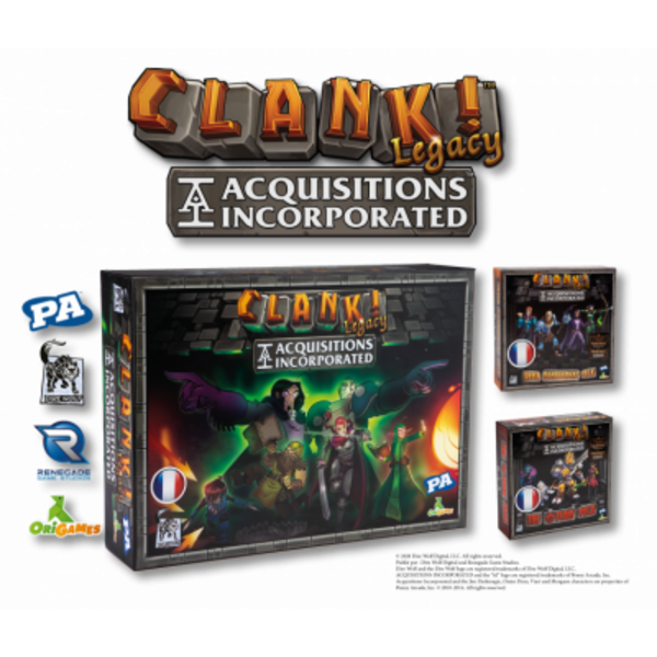 Renegade Clank Legacy: Acquisitions Incorporated VF - AVANT-PREMIÈRE