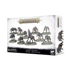 Age of Sigmar SOULBLIGHT GRAVELORDS: DIRE WOLVES