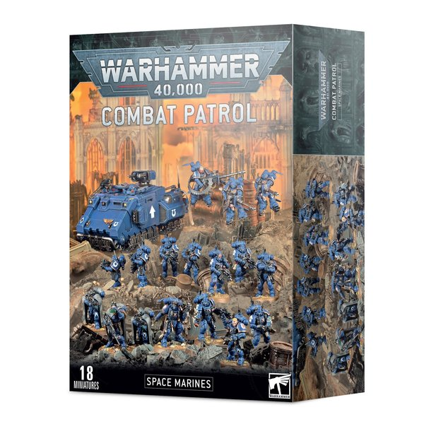 Warhammer 40k COMBAT PATROL: SPACE MARINES