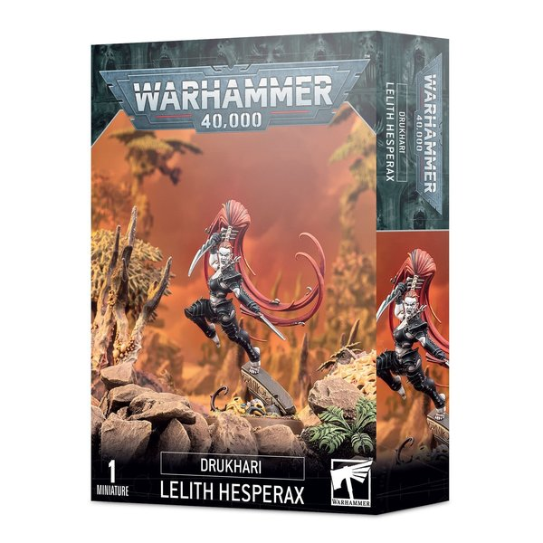 Warhammer 40k DRUKHARI LELITH HESPERAX