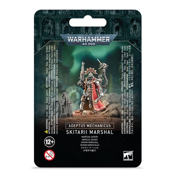 Warhammer 40k ADEPTUS MECHANICUS: SKITARII MARSHALL
