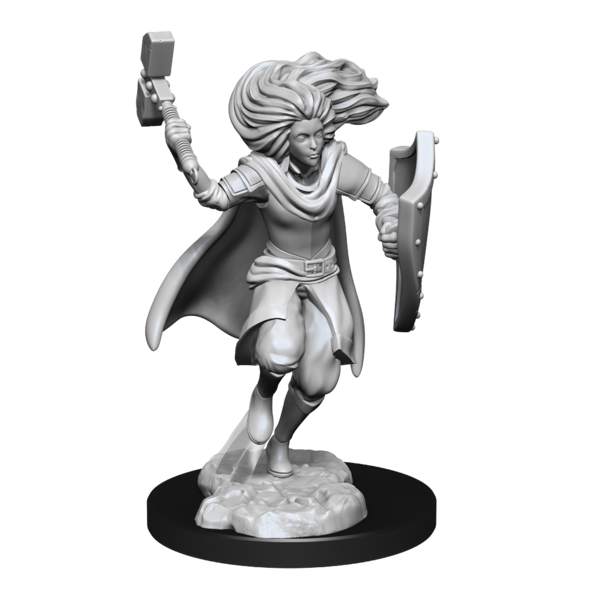 WIZKIDS DND UNPAINTED MINIS CHANGELING CLERIC MALE