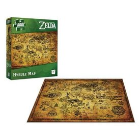 Usaopoly Puzzle 1000 - Zelda Hyrule Map