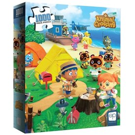 Usaopoly Puzzle 1000 - Welcome to Animal Crossing