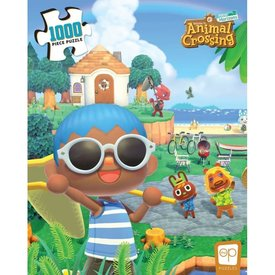 Usaopoly Puzzle 1000 - Animal Crossing Summer Fun