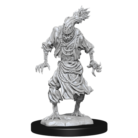 DND UNPAINTED MINIS SCARECROW/STONE CURSED