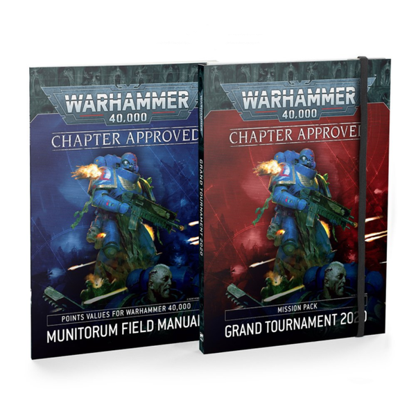 Warhammer 40k CHAPTER APPROVED - GRAND TOURNAMENT MISSION PACK 2021 (ENG)