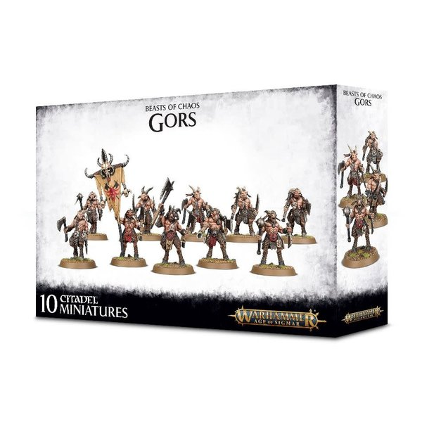 Age of Sigmar BEASTS OF CHAOS GORS